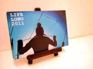 LIFE LOMO 2011写真展・DM