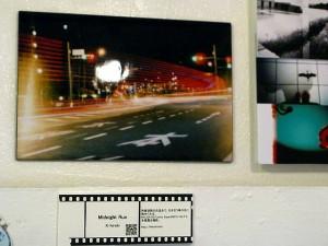 「Midnight Run」今回の展示作品