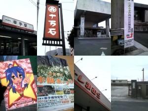 2010年1月:幸手駅-権現堂堤にて/1