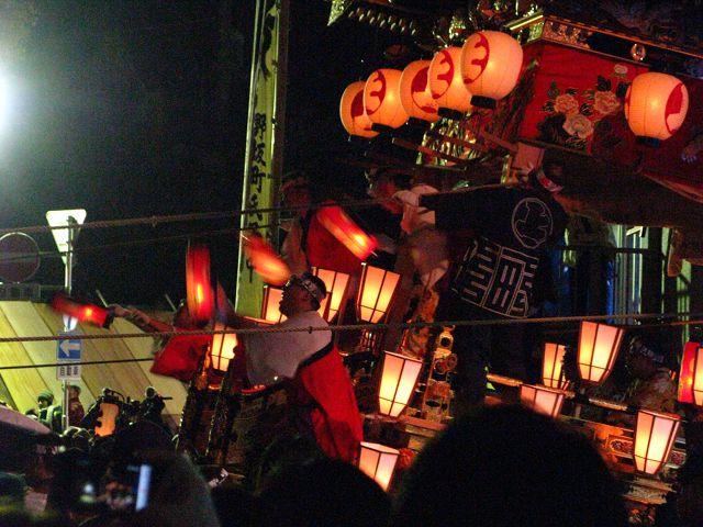 人間漂流15・「YOMATSURI」/山車が坂を上るクライマックス