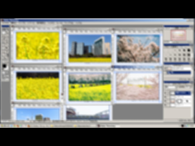 アートフリマVol.17向けポストカード・制作風景