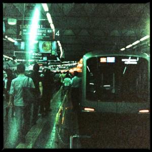 東横線渋谷駅にて・2