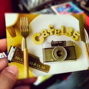 「Cafe135」DM